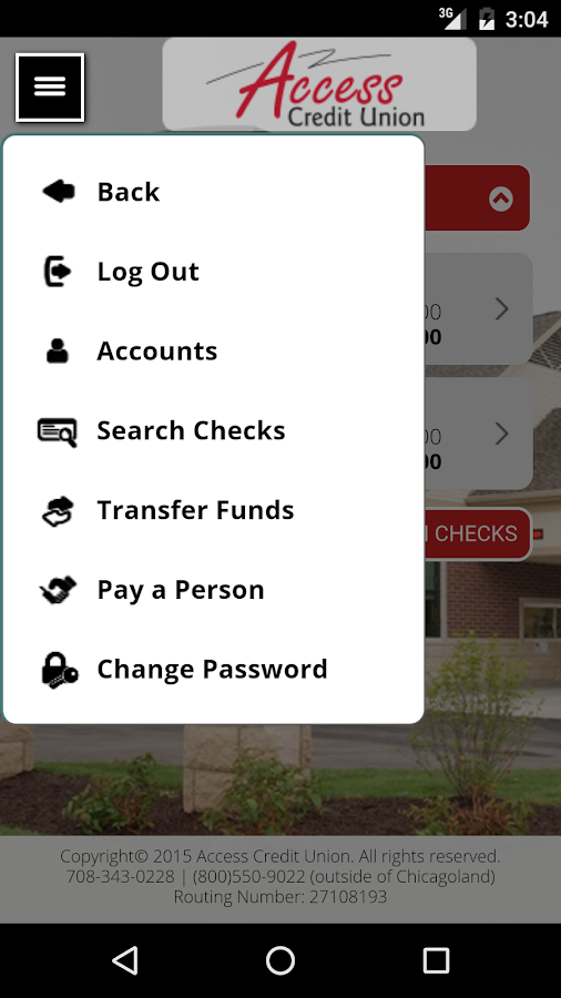 Access CU Mobile- screenshot