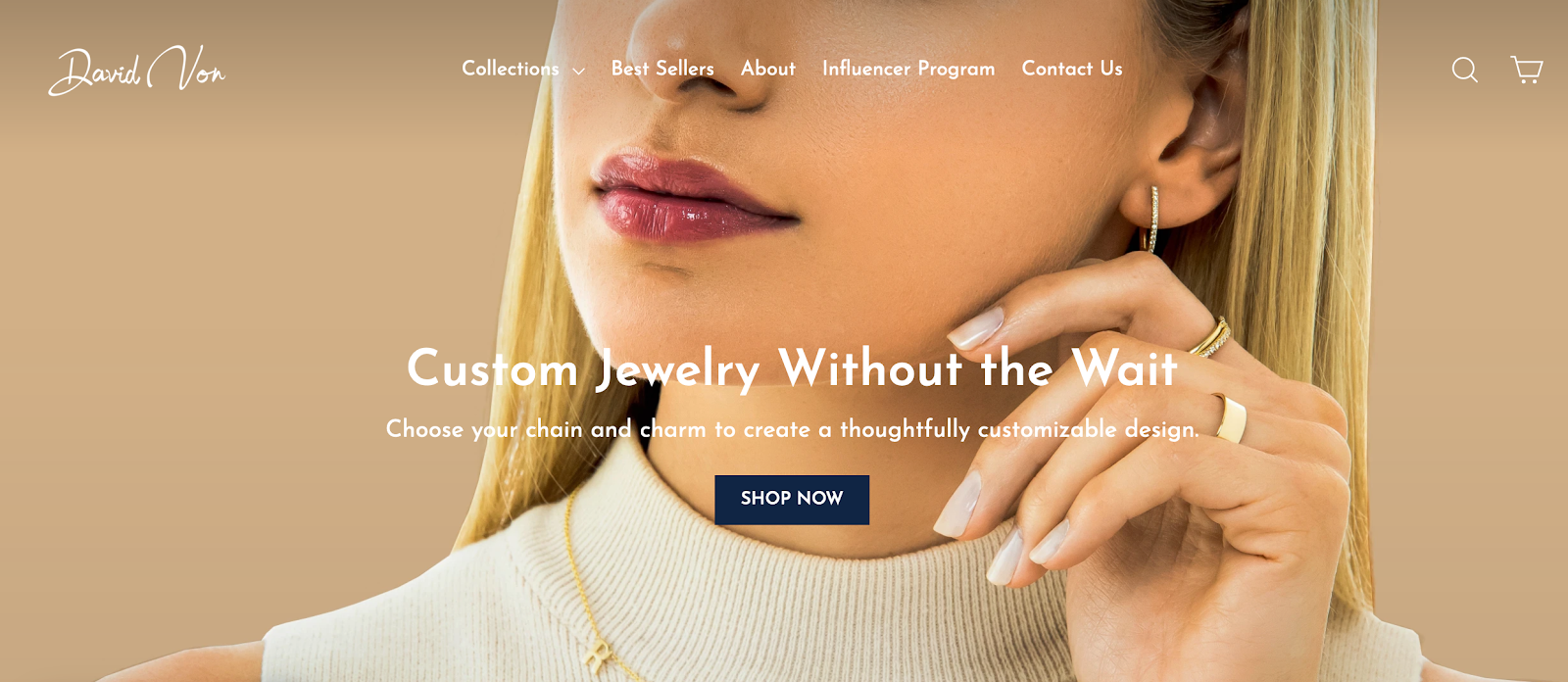 Custom Jewelry by David Von | Brands Looking for Influencers