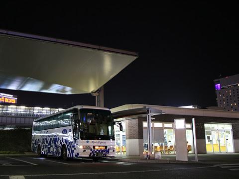 両備ホールディングス「ペガサス号」 0511 岡山駅西口改札中
