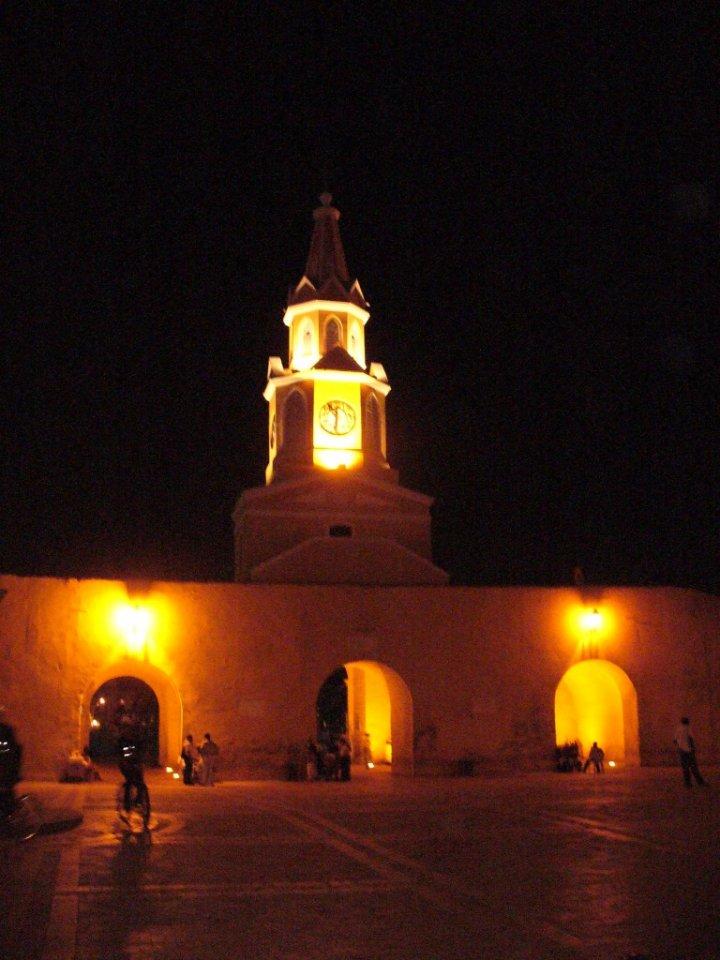 Torre dell'orologio cartagena colombia di mirco2680