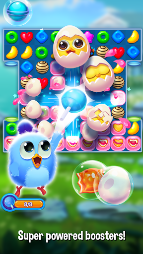 Bird Friends : Match 3 & Free Puzzle apklade screenshots 2