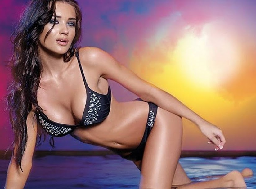 Amy Jackson in Bikini Photos, Amy Jackson Hottest Pics