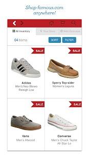Famous Footwear Mobile- screenshot thumbnail