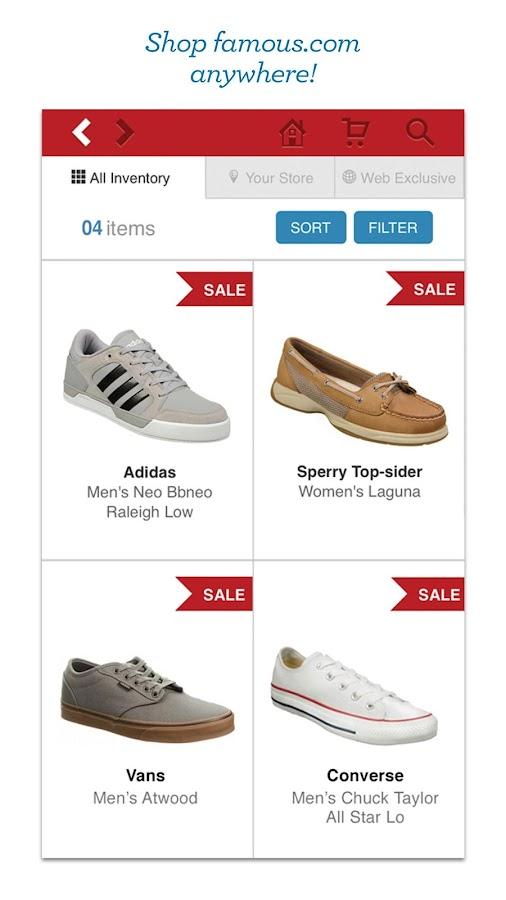 Famous Footwear Mobile- screenshot