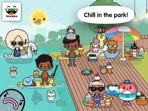 Screenshot for Toca Life: Pets in Hong Kong Play Store