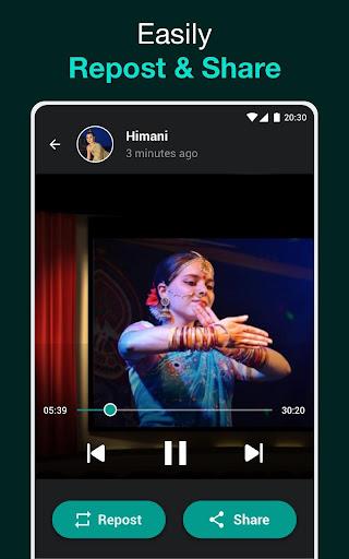 Status Saver for WhatsApp Video, Status Downloader 1.0.2 screenshots 8