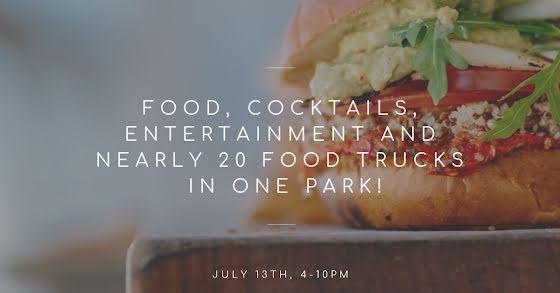 Twenty Food Trucks - Facebook Event Cover Template