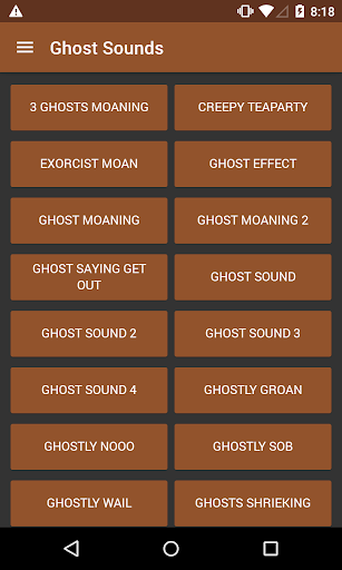 Ghosts Sounds
