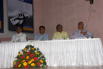 "Photo: Change for Better Release Function November 13, 2011. Shri. Suresh Prabhu, former Union Minister released ""Change for Better"" at HMCT Auditorium, Pune"
