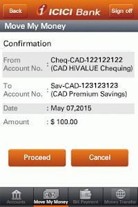 ICICI Bank Mobile- Canada screenshot 4