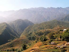 Photo: Sa Pa - okolice, masyw Fansipana (3143 mnpm) / Around Sa Pa - The massive of Fanispan