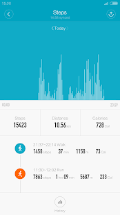 Mi Fit – Miniaturansicht des Screenshots