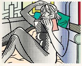 """Photo: Roy Lichtenstein, """"Nudo in lettura"""" (1994)"""