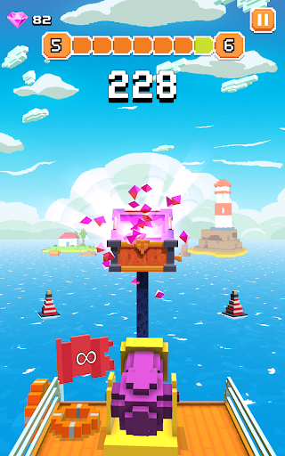 Blocky Tower - Knock Box Balls Ultimate Knock Out android2mod screenshots 22