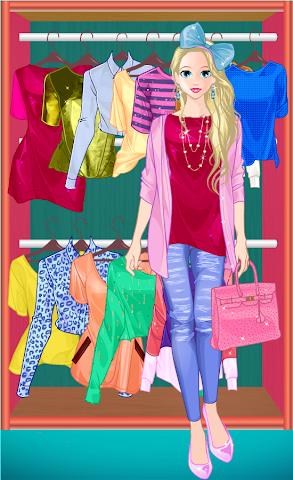 android Princess Doll Fashion Dress Up Screenshot 4