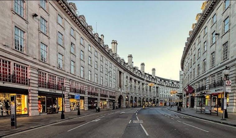 đại lộ mua sắm nổi tiếng nhất châu Âu Regent Street