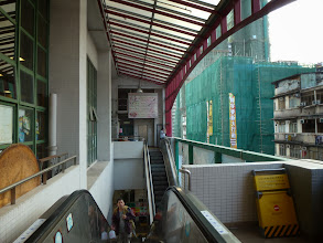 Photo: The food court is one floor above the market