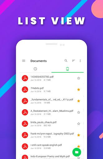 PDF File Reader - Viewer screenshot 4