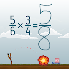 Multiplying Fractions icon
