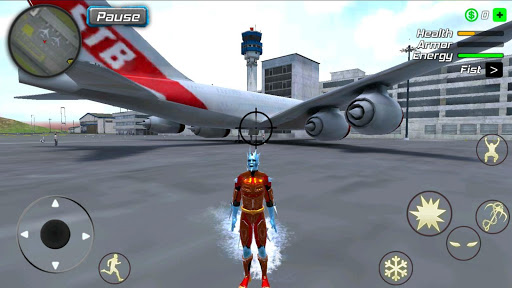 Snow Storm Superhero apktram screenshots 13