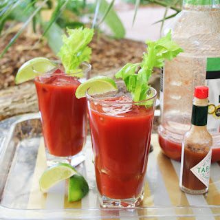 Camping Cocktails - Bloody Marys! Recipe