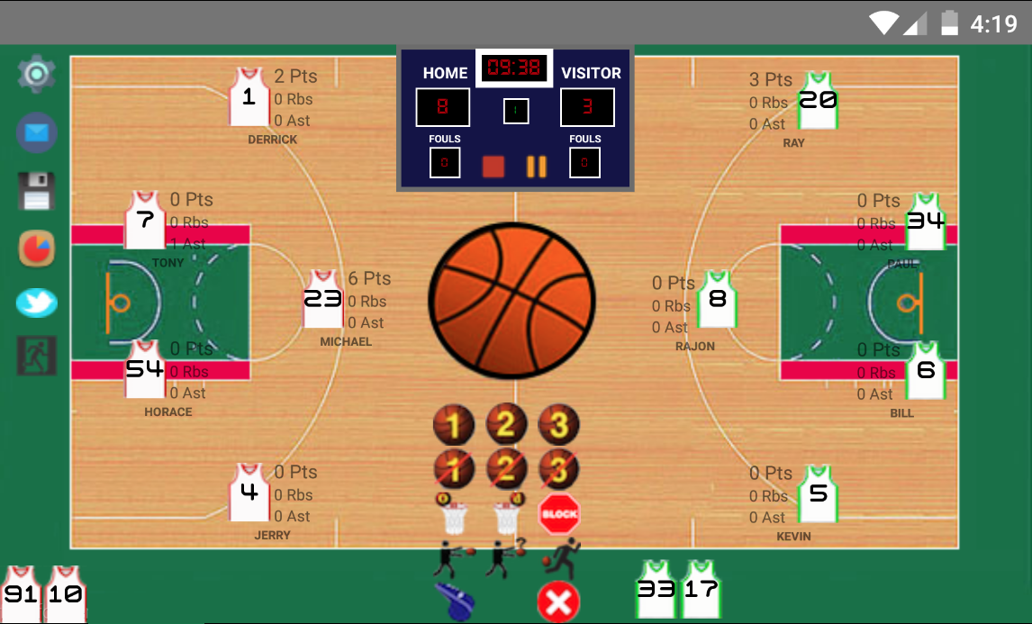 Basketball Stats Assistant Android Apps On Google Play