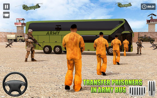 Army Bus Driver – US Military Coach Simulator 3D ss1