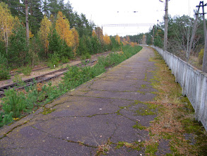 Photo: Станция Краснофлотск. Конечная.