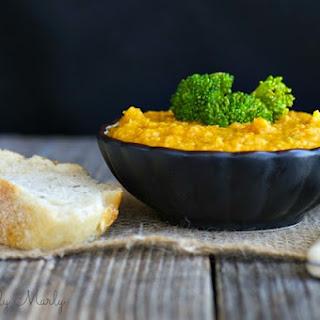 Cheesy Creamed Cauliflower Soup
