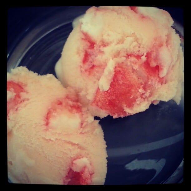 Ice with Strawberry Tagada Recipe