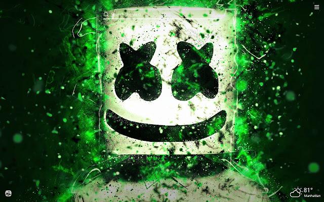 Marshmello HD Wallpapers New Tab Theme