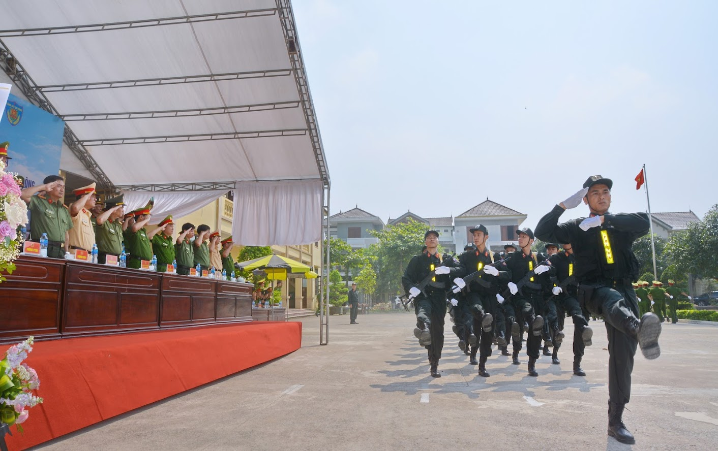 Lực lượng CSCĐ thường xuyên luyện tập kỹ, chiến thuật, sẵn sàng đáp ứng yêu cầu nhiệm vụ trong tình hình mới