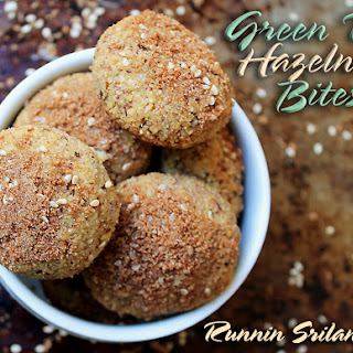 Green Tea Hazelnut Bites