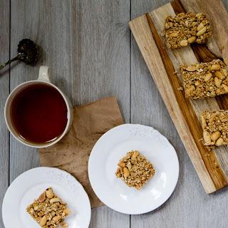 Salted Peanut Butter Granola Bars