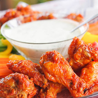 Cilantro Ranch Dipping Sauce - for wings & veggies.