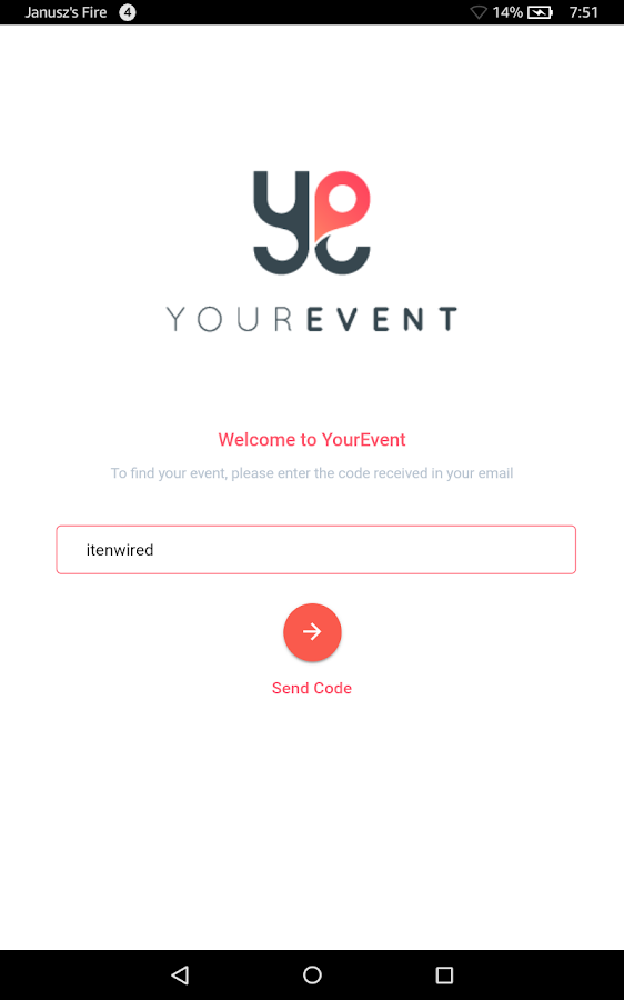 YourEvent!- screenshot