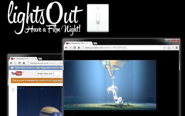 lightsOut: Film Night Mode For Chrome