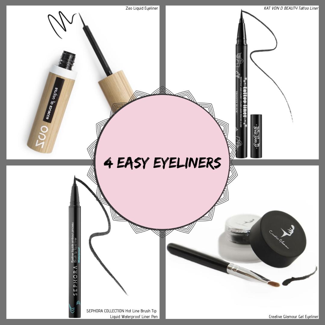 4 Easy Eyeliners