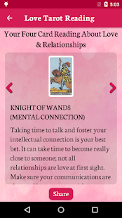 screenshot image - Love Card Reading