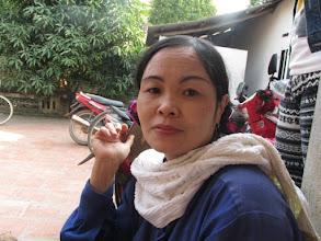 """Photo: """"Ms.Trần Thị Thu Hà 1. Số hiệu(ID member): 15011886 2. Tuổi(Age): 3. Địa chỉ(Address): Cụm 30 - Thôn Liên Bình - TT Hợp Hòa,Tam Duong District, Vinh Phuc province, Vietnam. 4. Thông tin gia đình(Household's information): Gia đình TV có 04 khẩu 02 lao động chính, chăn nuôi lợn, làm rau màu (Member's family has 04 people, 02 main labors, breeds pigs and grows crop) 5. Ngày vay(Date of loan): 01/01/15 6. Mức vay(Loan size): 6.000.000đ 7. Mục đích vay(Loan purpose): Chăn nuôi/livestock farming"""""""