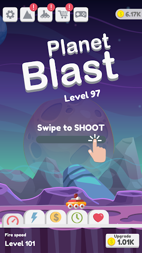 Planet Blast - Swipe To Shoot Jumping Ball 3.8 de.gamequotes.net 1