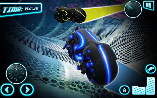 Tron Bike Stunt Racing 3d Stunt Bike Racing Games 101 gameplay | by HackJr.Pw 8