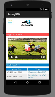 RacingNSW - screenshot