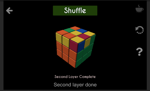 Rubik's Cube- screenshot thumbnail