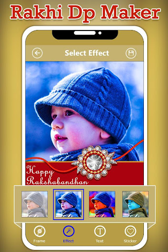 Rakhi Dp Maker : Rakshabandhan Profile Maker 1.0 screenshots 3