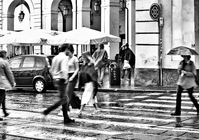 People from Turin ... on a rainy day di marina_066