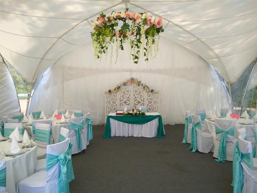 Банкетный зал «Арочный шатер «На Абордаж»» для свадьбы на природе 2