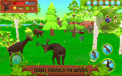 Deer Simulator - Animal Family APK MOD – Pièces Illimitées (Astuce) screenshots hack proof 1