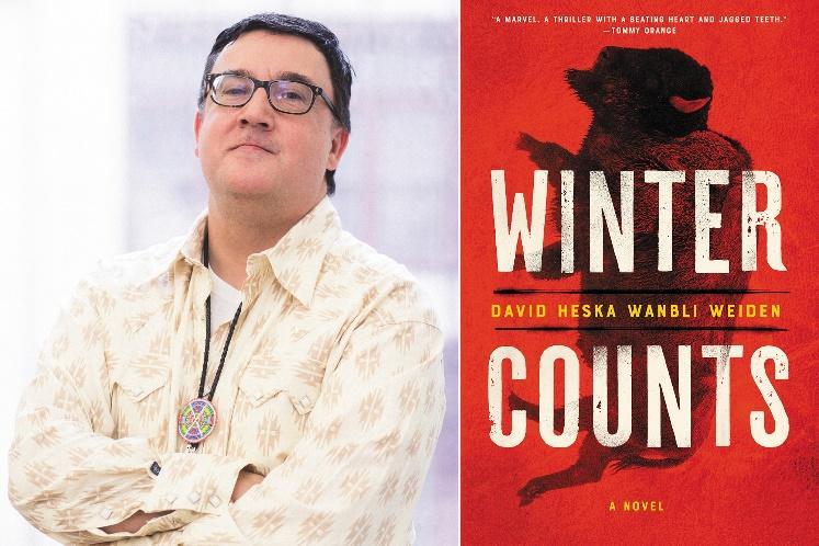 Interview with Winter Counts author David Heska Wanbli Weiden | EW.com