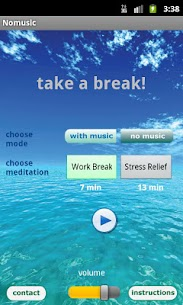 Free Meditation – Take a Break App Download For Android and iPhone 1